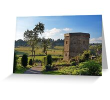 Late Afternoon at Chirk Greeting Card