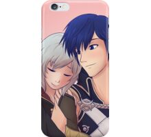 Chrom x F!Robin (Silver Hair) iPhone Case/Skin