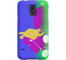Easter Bunnies with Ear Buds Samsung Galaxy Case/Skin