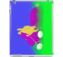 Easter Bunnies with Ear Buds iPad Case/Skin