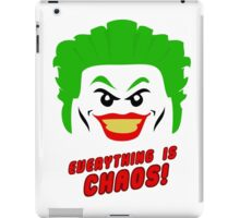 Everything is chaos! iPad Case/Skin