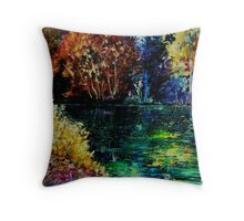 pond 3 Throw Pillow