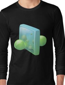 Glitch Wardrobia mental item 14 w1 Long Sleeve T-Shirt