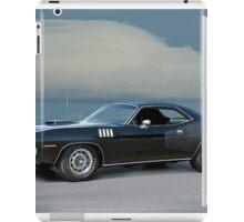1971 Plymouth Barracuda 'HemiCuda' iPad Case/Skin