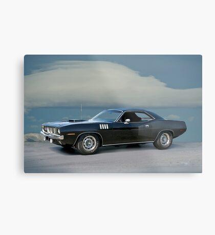 1971 Plymouth Barracuda 'HemiCuda' Metal Print