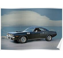 1971 Plymouth Barracuda 'HemiCuda' Poster