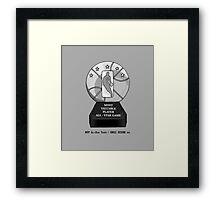 MVP All-Star Trophy / Smile Design 2014 Framed Print