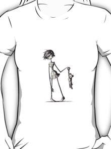 Gothic Teddy Bear T-Shirt