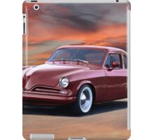1953 Studebaker Custom Commander iPad Case/Skin