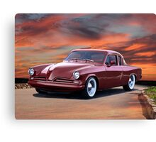1953 Studebaker Custom Commander Canvas Print