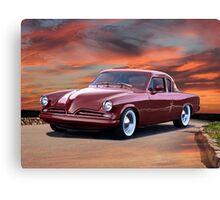 1953 Studebaker Custom Commander Canvas Print