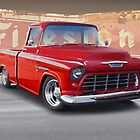 1956 Chevrolet Custom Pickup  by DaveKoontz
