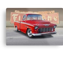 1956 Chevrolet Custom Pickup  Metal Print