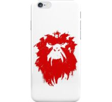 12 Monkeys - Terry Gilliam - Wall Drawing Red iPhone Case/Skin