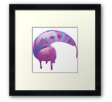 Glitch Wardrobia mental item 17 w1 Framed Print