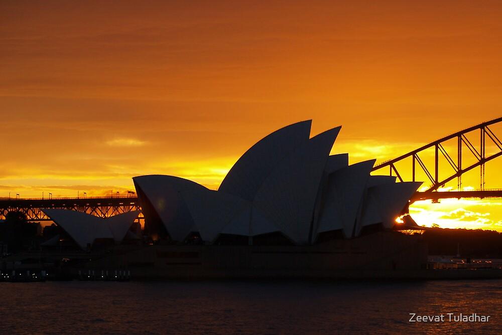 Golden Sunset 2 by Zeevat Tuladhar