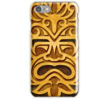 Stylish Stone Mayan Mask iPhone Case/Skin