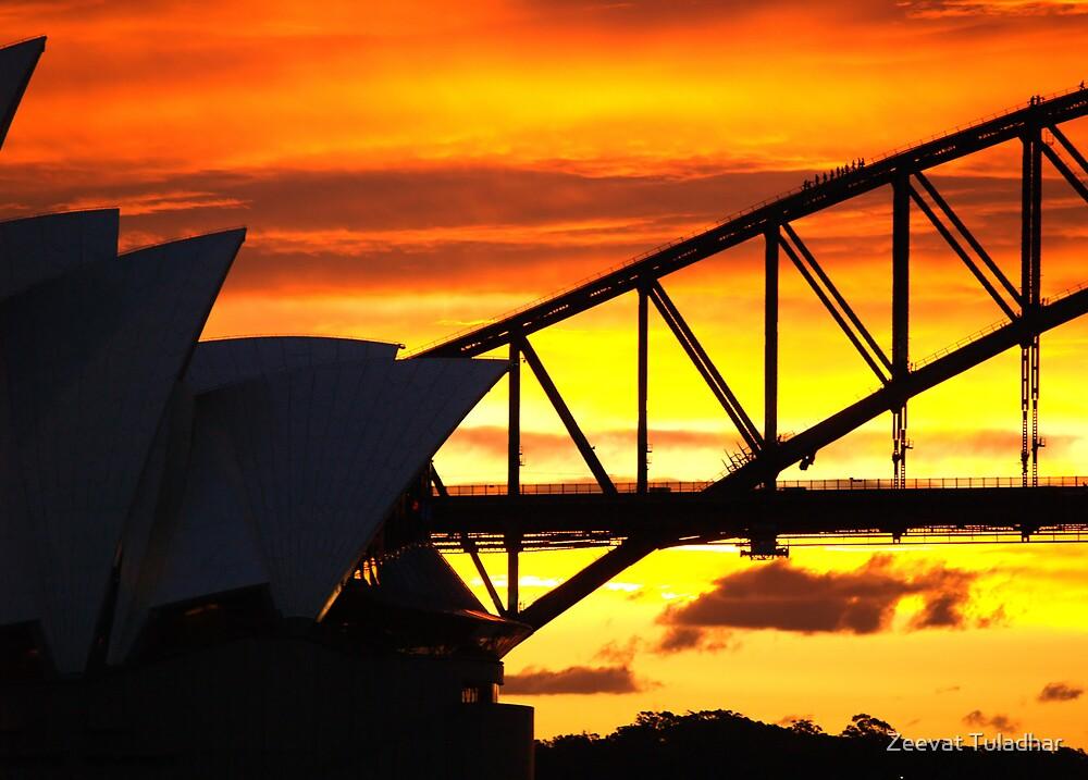 Golden Sunset 3 by Zeevat Tuladhar