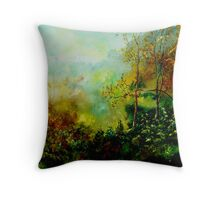 wood Throw Pillow
