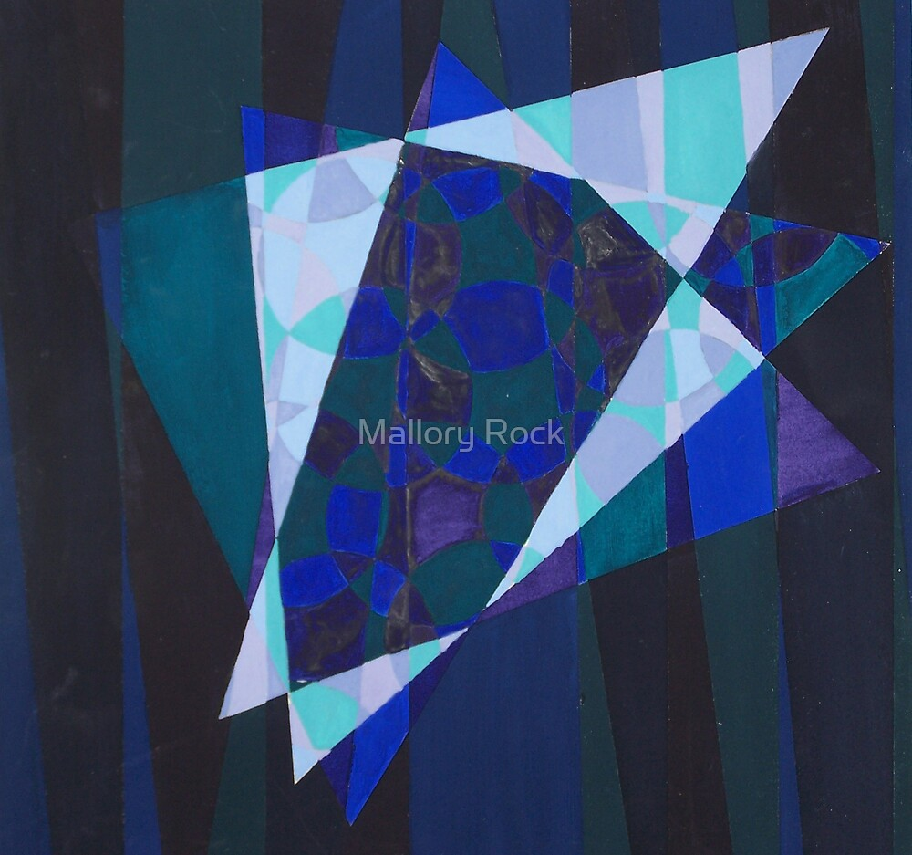 Abstract Painting 2 by Mallory Rock
