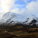 Snow on the Buachaille by beavo