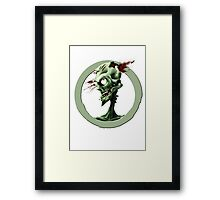 Aim for the head Framed Print