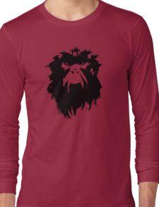 12 Monkeys - Terry Gilliam - Wall Drawing Black Long Sleeve T-Shirt