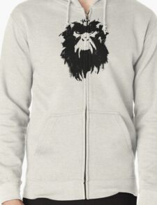 12 Monkeys - Terry Gilliam - Wall Drawing Black Zipped Hoodie