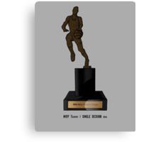 MVP Trophy / Smile Design 2014 Canvas Print