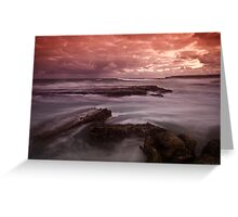 Merewether at Dusk 4 Greeting Card