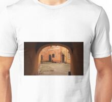 Courtyard. Unisex T-Shirt