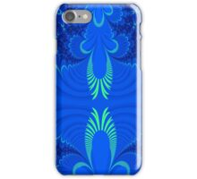 Blue wings abstract art iPhone Case/Skin