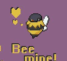 Bee mine, Cute Phone Case by C0NN0R