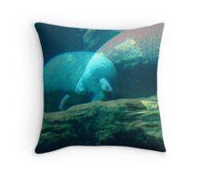 Gentle Giants Throw Pillow
