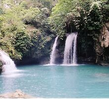 Kawasan Falls - Cebu Philippines by Robert Phelps