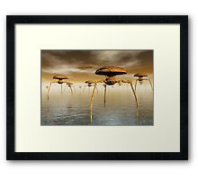 They're Coming Framed Print