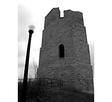 Water Tower BW Photographic Print