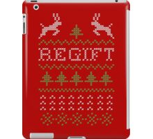 Regift ugly Christmas present II iPad Case/Skin