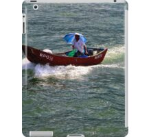The Lonely Barge - Hong Kong. iPad Case/Skin