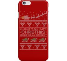 Christmas Vacation Misery iPhone Case/Skin