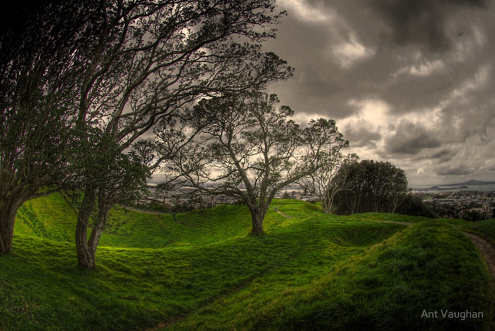 Mt Eden Volcano by Ant Vaughan