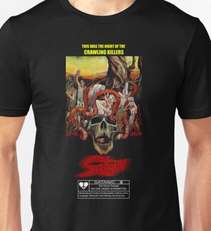 Say You Love Satan 80s Horror Podcast - Squirm Unisex T-Shirt