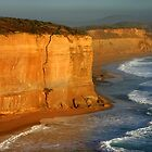 Golden Cliff - 12 Apostles by Hans Kawitzki
