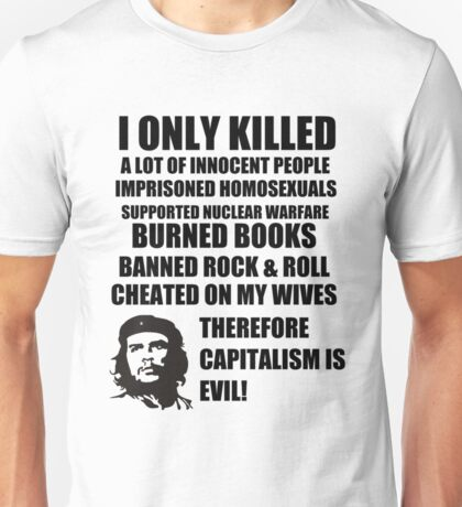Anti-Che Guevara Unisex T-Shirt