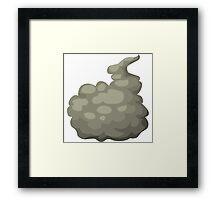 Glitch Wardrobia mental item 25 w1 Framed Print