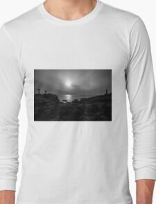 Black and white lighthouse Long Sleeve T-Shirt