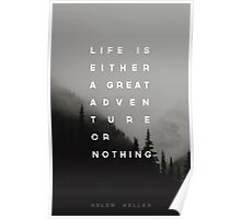 Adventure or Nothing Poster