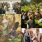 Biblical Collage - New Testament by Kathryn Jones