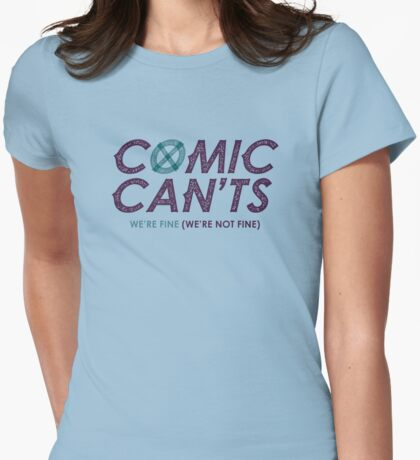 #ComicCants Unite! Womens Fitted T-Shirt
