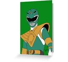 Green Ranger  Greeting Card